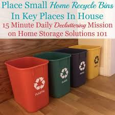 Recycle Bins For Home Enchanting Place Home Recycle Bins In Key Locations 32 Minute Mission
