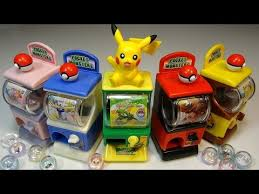 Pokemon Mini Vending Machine Unique Gashapon Mini Mini Gasha Poke Machine XY Balbur