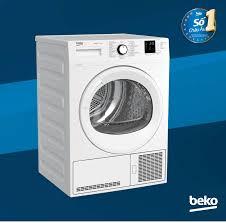 Máy sấy quần áo Beko ngưng tụ DU8133GA0W - 8kg - Nhập khẩu Châu Âu - Bảo  hành chính hãng 2 năm giá rẻ 9.999.000₫