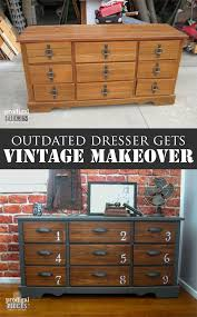 diy furniture makeovers. outdated vintage dresser gets industrial makeover by prodigal pieces wwwprodigalpiecescom diy furniture makeovers
