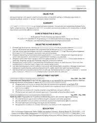 Manufacturing Engineer Resume Sample Mechanical Engineer Resume Template Engineering