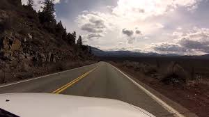 car driving down road.  Down GoPro Mounted On Car U0026 Driving Down A Mountain Road Throughout