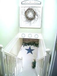 decoration stair landing decor decorating ideas wonderful small hall stairs stairway
