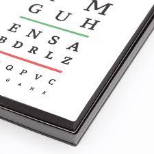 Eye Grid Chart Signature Eye Chart Grid Notebook A5 White