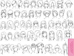 Female Hairstyle Names various female animemanga hairstyles by elythe on deviantart 6614 by stevesalt.us