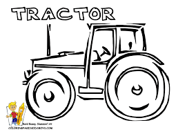 Gritty Tractor Coloring Pages To Print