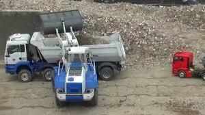Tiny Truck Liebherr Radlader Load Tiny Truck 124 Arocs Man Kipper Rc Build