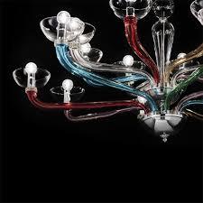Mia Murano Kronleuchter ø1200mm Klassisch Bunt Glas
