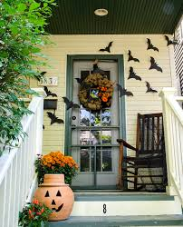 ... Astounding Front Porch Decoration Design Ideas : Good Ideas For Front  Porch Decoration With Fall Wreath ...