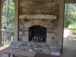 Natural Stone Fireplace Stone Fireplace Ideas An Example Of The Comiso Faux Stone