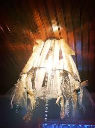 diy chandelier diy shabby chic chandelier