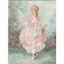 debi coules th century french style w lilliana gic  debi coules 18th century french style w lilliana giclee print the bella cottage