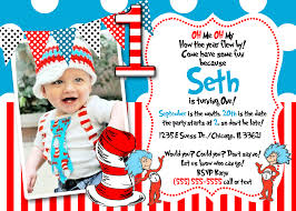 dr seuss 1st birthday invitations to get ideas how to make your own birthday invitation design 1