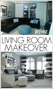 For A Living Room Makeover Bold And Bright Living Room Makeover Before After