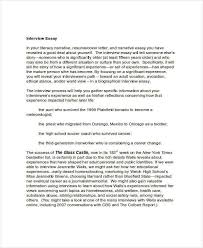 interview essay examples okl mindsprout co interview essay examples