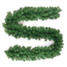 Battery Operated Lighted Garland Amazon Com Wsd 10ft Garland Prelit Garland Lighted