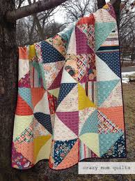 86 best images about SImple Patchwork on Pinterest & Crazy Mom Quilts broken dishes with Maureen Cracknell's Fleet and Flourish  fabric Adamdwight.com