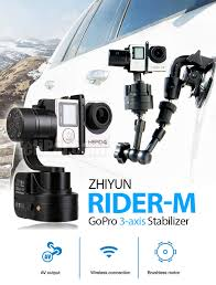 Zhiyun Rider-M Wearable Gimbal for GoPro (3-Axis) - Zhiyun- HeliPal