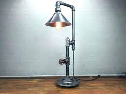 hammered metal table lamp decoration nice modern metal table lamp lamps shade industrial furniture bulb pipe