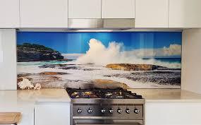 splash ocean glass kitchen splashback