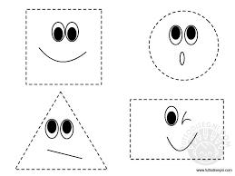Figure Geometriche Da Ritagliare Tuttodisegnicom