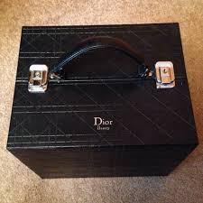 reduced dior makeup train case