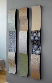 Artful Home Stainless Steel Wall Ribbons By Linda Leviton Metal Wall