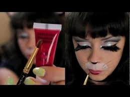 pin up kitty cat makeup tutorial