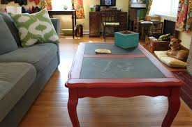 painted coffee table diy