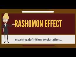 what is rashomon effect what does rashomon effect mean rashomon what does rashomon effect mean rashomon effect meaning