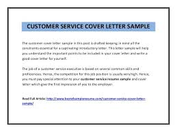 example customer service cover letter cover letter samples customer service great customer service best