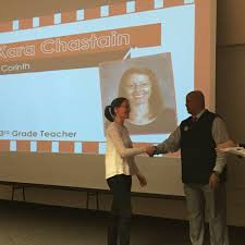 """Corinth Dragons on Twitter: """"Ms. Chastain recognized tonight by ..."""