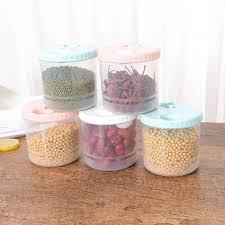 transpa plastic sealed cans refrigerator kitchen