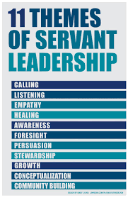 leadership theory servant leadership theory 11 themes design by emily lyons