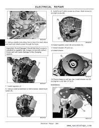 john deere gator utility vehicle hpx 4x2 4x4 gas diesel tm2195 enlarge