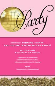 dirty 30 birthday invitation templates awesome 30th birthday party invitations for her cimvitation