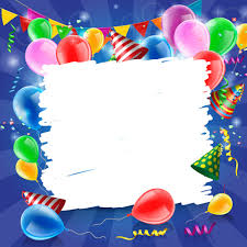 Free Birthday Backgrounds Confetti With Colored Balloons Birthday Background Free