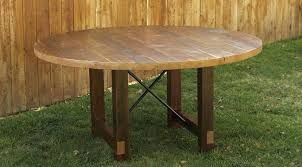 round reclaimed wood dining tables layout round reclaimed wood dining table