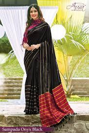 Graduation Saree Design Aura Saree Present Sangeet Ki Dhun Pure Cotton Silk Sarees