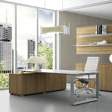 wooden office desks. Executive Desk / Workstation Wood Veneer MDF - PITAGORA Wooden Office Desks