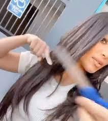 kim kardashian got an emergency haircut