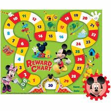 Eureka Mickey Mouse Mini Reward Chart With Stickers