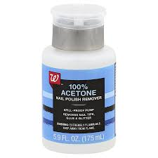 walgreens beauty nail polish remover pump 100 acetone5 9 fl oz