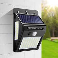 Solar Sensor Light Big W Waterproof Outdoor Wall Led Solar Night Light Pir Motion