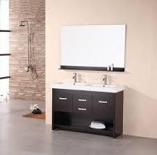 Open Shelf Vanity Bathroom 27 Stunning Ideas Of 48 Inch Double Sink Vanity For Your Bathroom