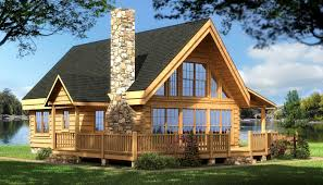Log Cabin House Plans Rockbridge Log Home Cabin Plans Back Log Cabin Home Log Home Design Log Cabin Kit Home Plan Log House