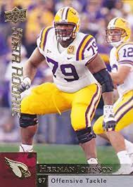 2009 UPPER DECK HERMAN JOHNSON RC ROOKIE CARD at Amazon's Sports  Collectibles Store