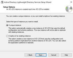 Step By Step Guide To Setup Active Directory Lightweight Directory