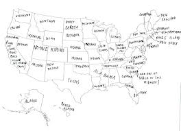 british people hilariously label a map of the united states Map Of Us With Labels 2 this person did a great job on the east coast, then gave up and decided everywhere was indiana map of usa with labels