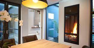 vertical fireplace